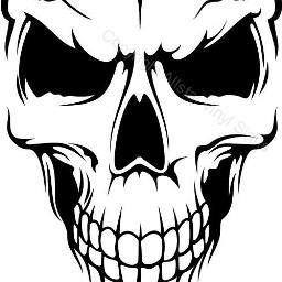 freetoedit skull skulls skullhead skullface