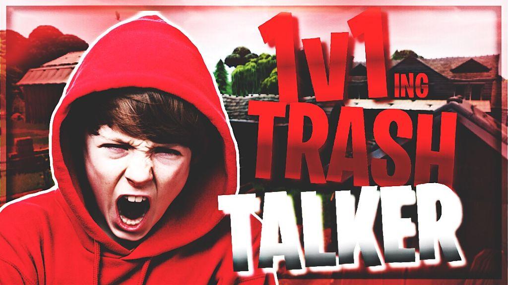 fortnite thumbnail 1v1 trashtalker