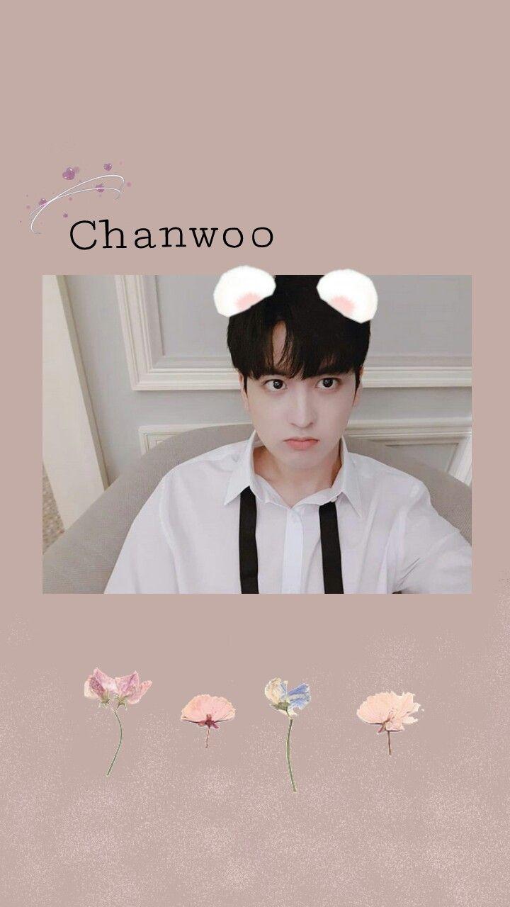 chanwoo ikonchanwoo ikon ikonic cute wallpaper freet