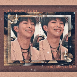 rm namjoon bts brown btsrm collage they aintthesame lyrics kimnamjoon rmbts namjoonbts coffee sparkles grainoverlay aesthetic