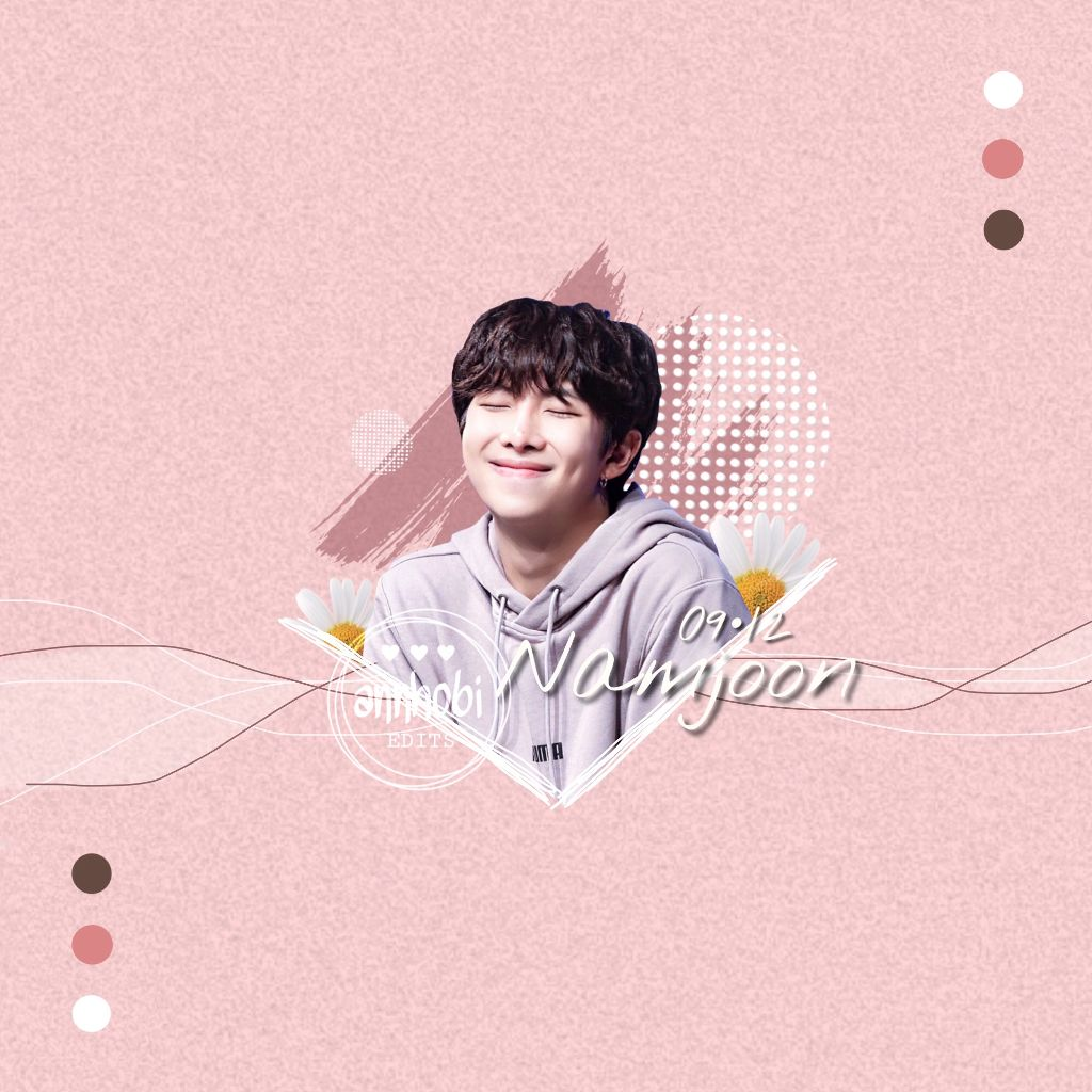 Happy Birthday RM Freetoedit Bts Rm Kpop Namjoon Edit