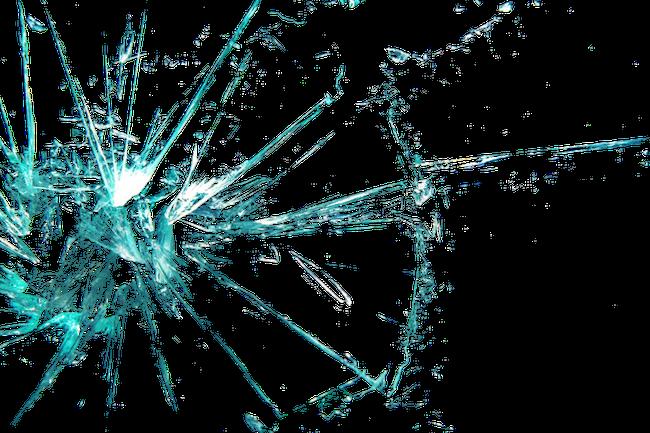blue brokenglass cracks overlay cracks overlay cracked...