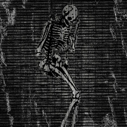 creppy skeleton error swing scary