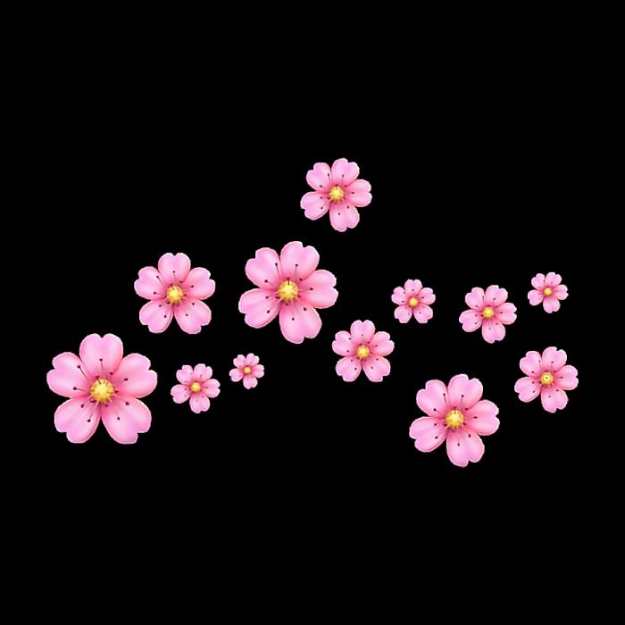 Tumblr Pinkflower Emoji Kawaii Cute Pink
