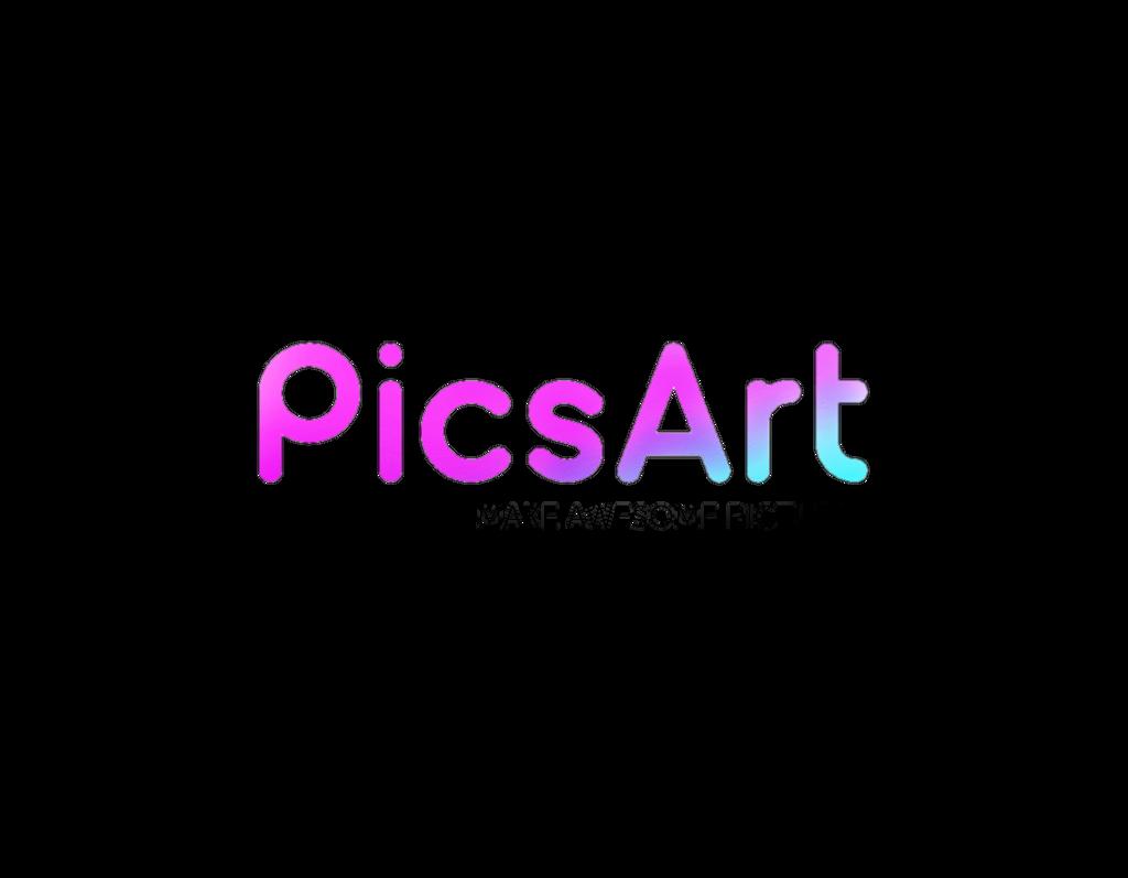 picsart logo marcas PicsArt myedit app tumblr