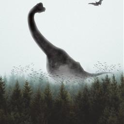 freetoedit myillustration behemoth dinosaur dinosaurs