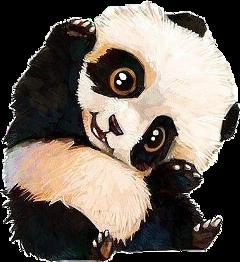 scpanda panda art cute aww freetoedit