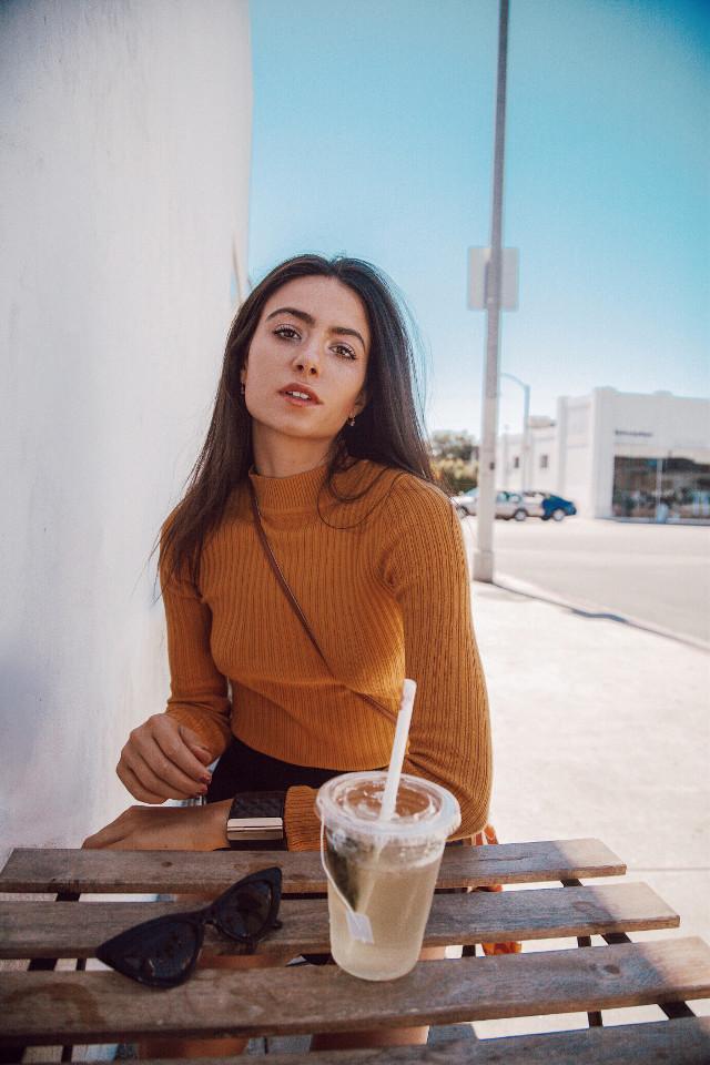 It's always tea time. 🍵🍵🍵   #tea #teatime #losangeles #blogger #la #people #photography #sky #picsartvip #fall #fallfashion #girl #california #freetoedit