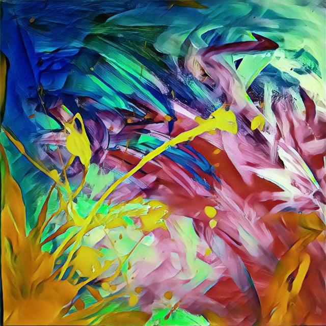Random Contemplation 1.0 #art #abstractart #abstractpainter #painting #abstractpainting #paintings #paintmixing #paintingwithatwist #bright #brightcolorsmakemehappy #colorful #artistsofinstagram #interesting #thoughtprovoking #paint #kidspaint #crayola #splatterpaint #album #albumcover #albumartwork #albumart #lofi #randomart #random