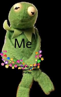kermit kermitlovememe love meme lovememe freetoedit