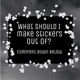 question comment commentdownbelow