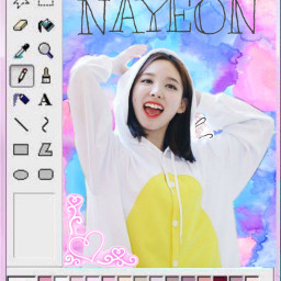 freetoedit happynayeonday happybirthday nayeon once