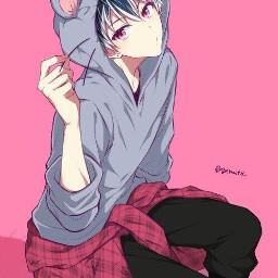 freetoedit animeboy mouse anime boy animeboyfreetoedit