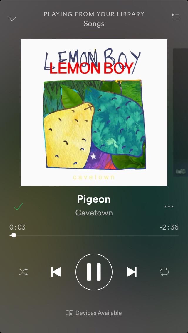 I recommend 😍  #pigeon #cavetown #goodsong #yas #interesting #weird #art