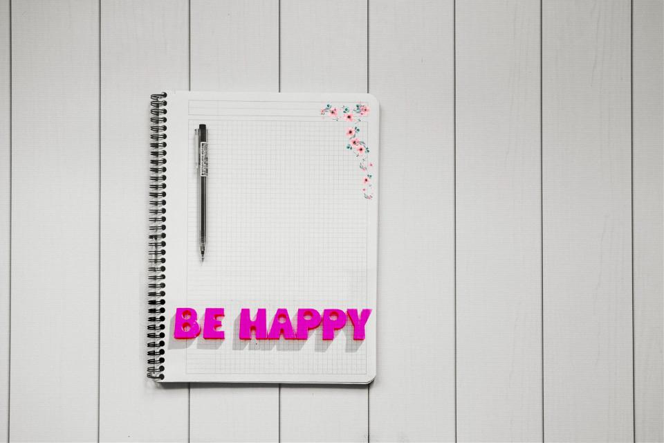 #notebook #behappy #pen #text #interesting #art #flower #photography #free