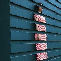 freetoedit women cutout wall