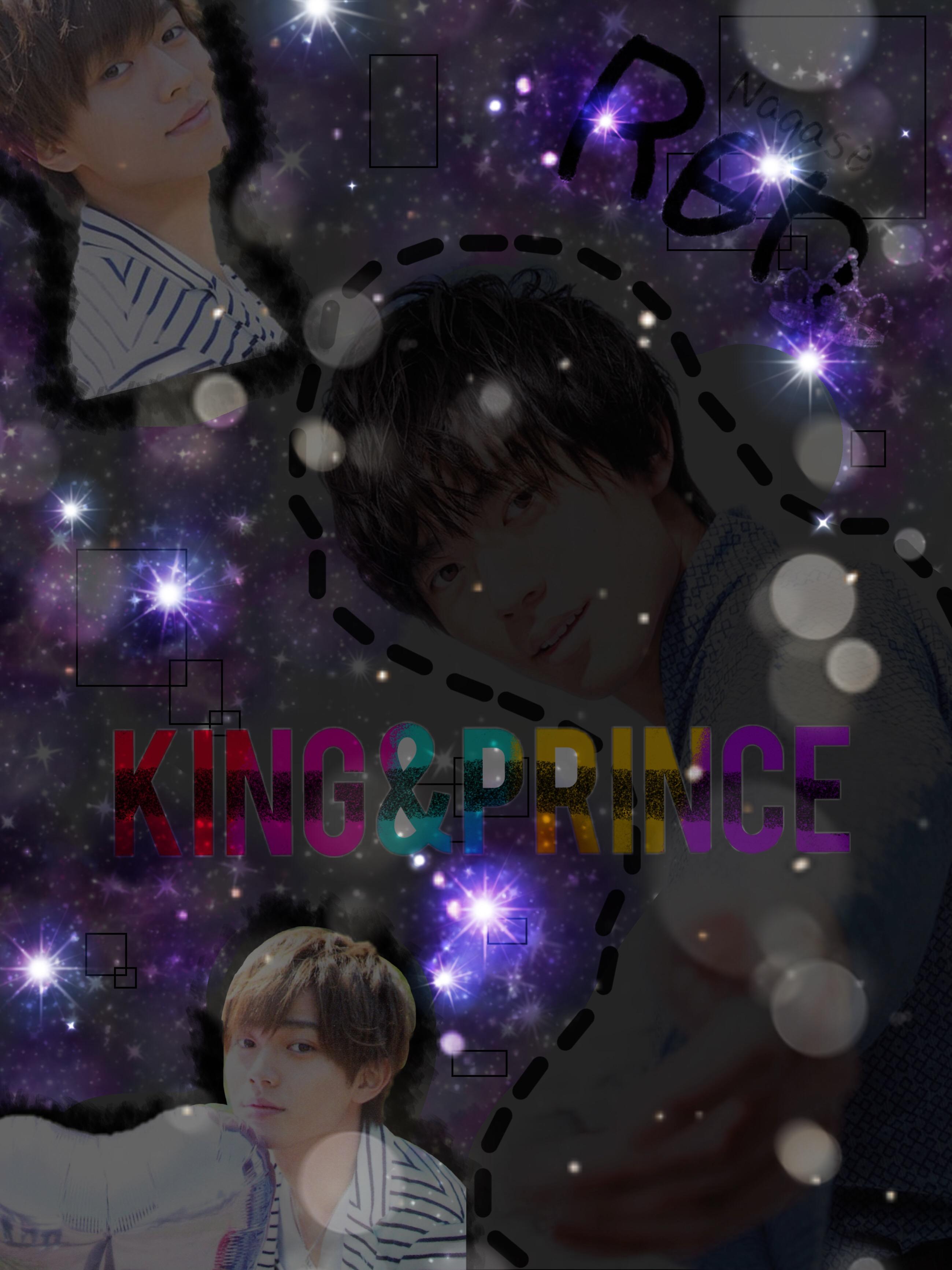 Freetoedit れんれんking Prince キンプリ壁紙永瀬廉漆黒暗い黒宇宙