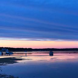 freetoedit sunset nofilter blue beach pcbluehour bluehour