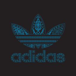 adidas logo illustration armenian ornamental