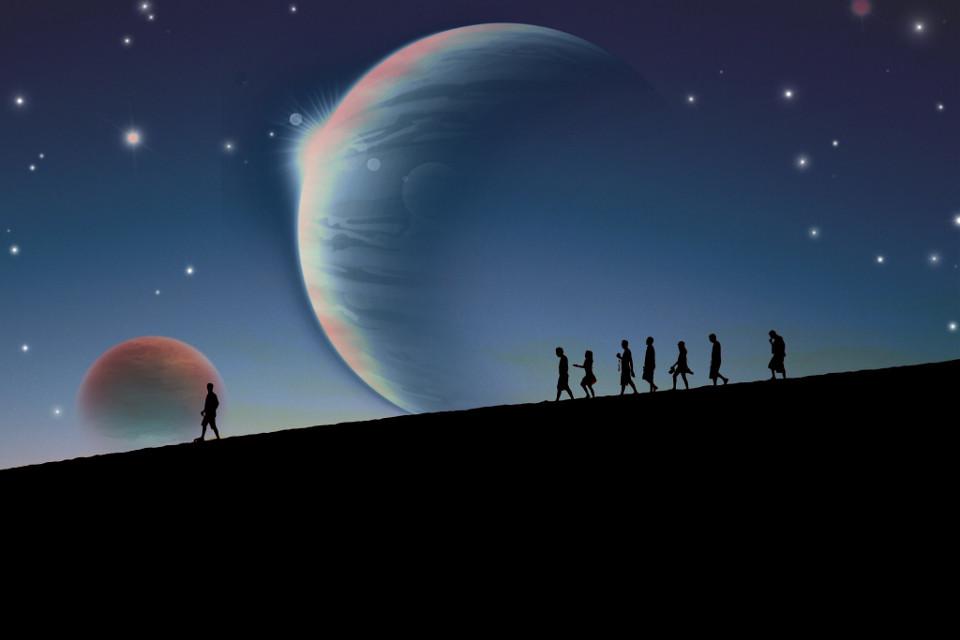 #freetoedit #wanderer #planet #planets #stars