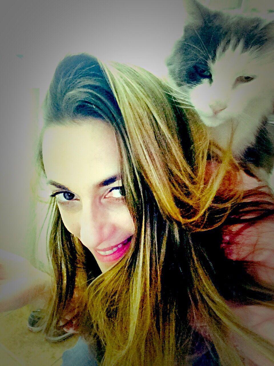 #petselfie #myfirstbaby #osciedoscie #bondingduringbathroomtime #alwaystogether🌈