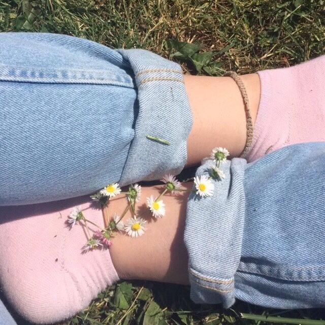 #Socks #Aesthetic #Flowers #Tumblr #ArtHoeAesthetic