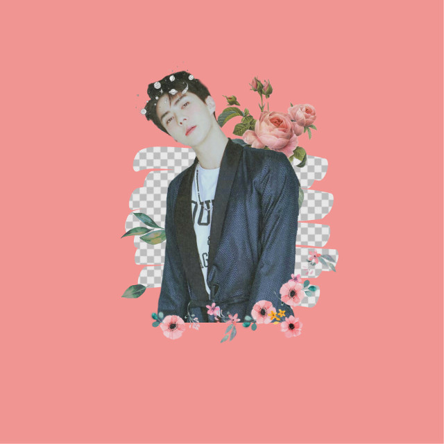 #freetoedit #sehun #exo #edit #flower