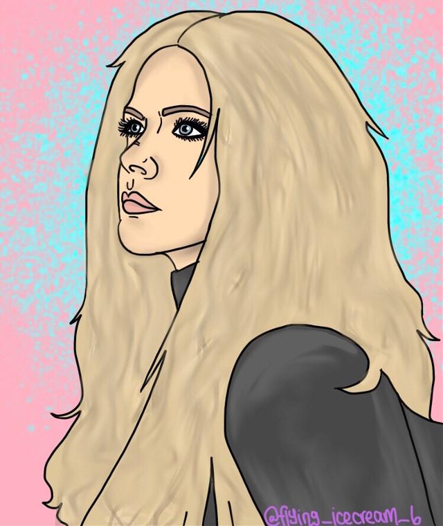 "Happy birthday Avril Lavigne!!! Oh my gosh I'm loving her new single ""head above water"" !! #avrillavigne"