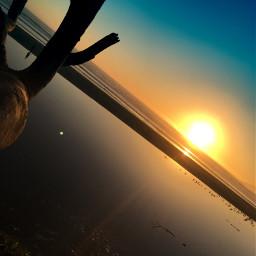 photography pismobeach sunset beachgirl freetoedit