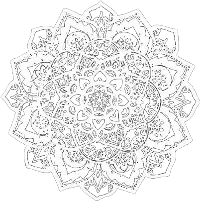 Mandalas Tumblr Sticker By Valeriaofc
