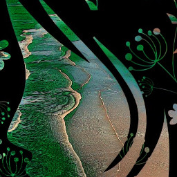 greenmagiceffect freetoedit face artisticeffect seawaves