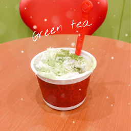 greentea icecream