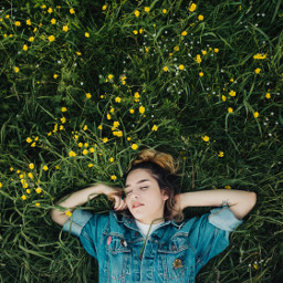 grass people girl girls freetoedit