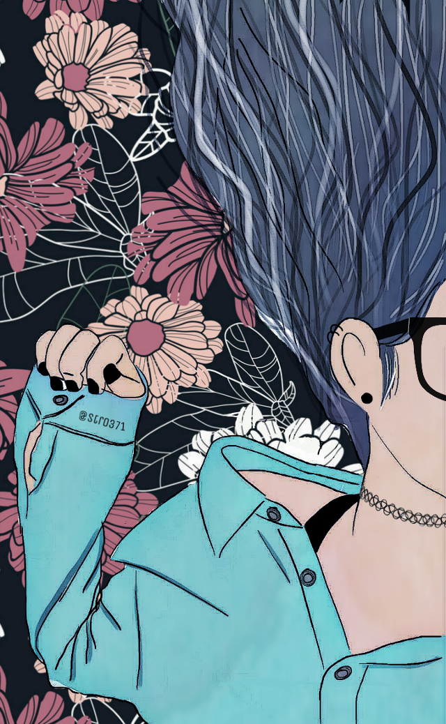 #Flowers #Hand #Glases #Blue #Girl #Draw #Illustrator #Edit #photography #colors #lines #Aesthetic #Fotoedit #Cartoon #followme #Red #Aesthetic #Tumblr