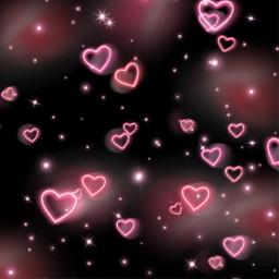 freetoedit hearts sprinkles rainbow rainbowbackground
