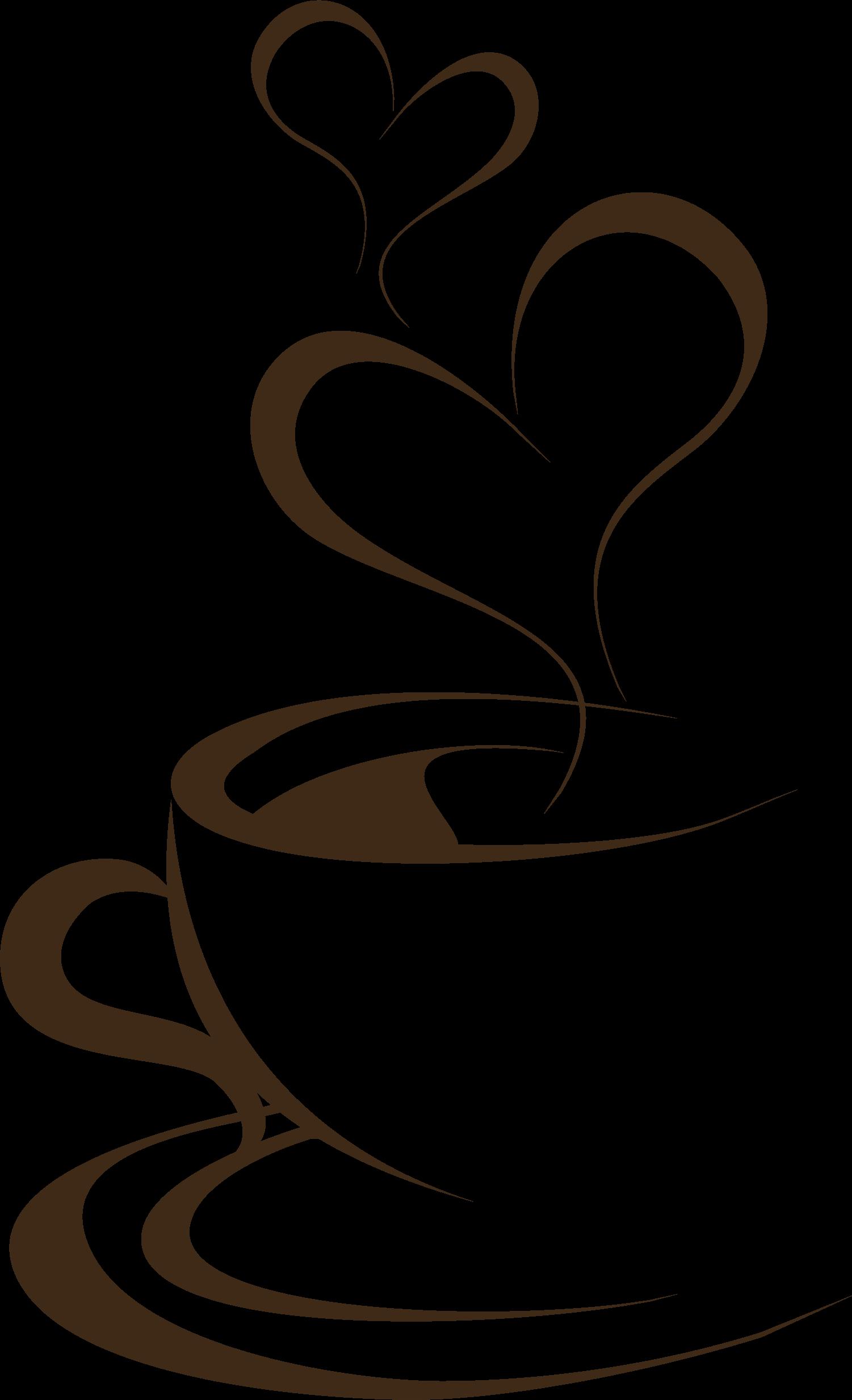 Рисунок с кофейной чашкой