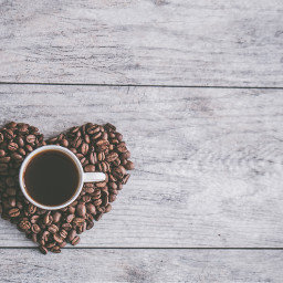 freetoedit coffee cup background heart