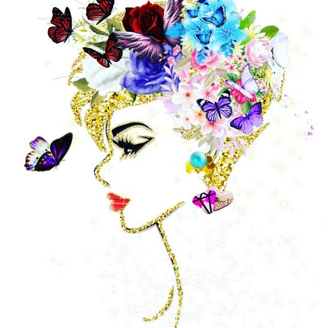 La Dame et le Papillon #freetoedit