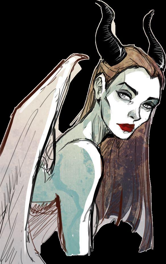 Disney Maleficent Malefica Sticker By Nephilim