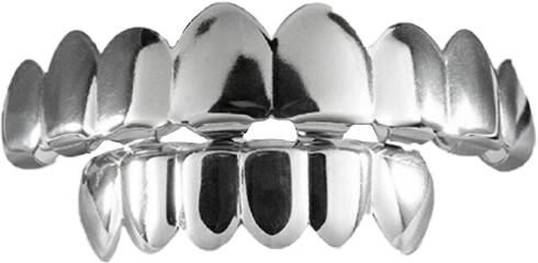 freetoedit chrome grill teeth gangster