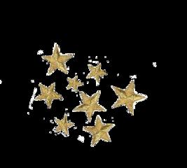 stars golden aestheticstars aesthetic pngsticker freetoedit