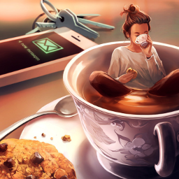 freetoedit café amo celular chave
