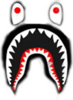 69de615b09dd Largest Collection of Free-to-Edit bapeshark Stickers on PicsArt