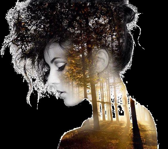 #woman #doubleexposure #silhouette #girl