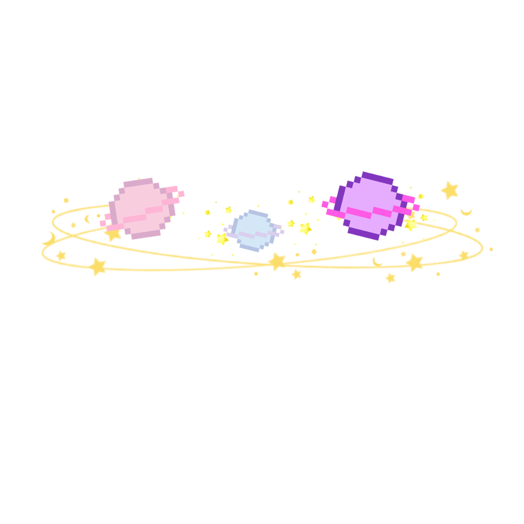 Galaxy aesthetic. Planets stars crown freetoedit