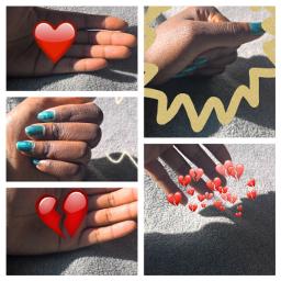 freetoedit heartsticker collage