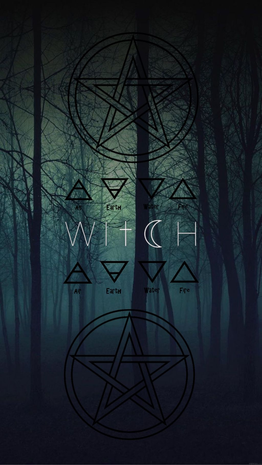witch wicca wallpaper aesthetic - Image