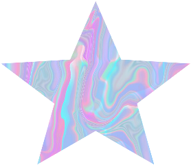 holo holographic star shape background freetoedit