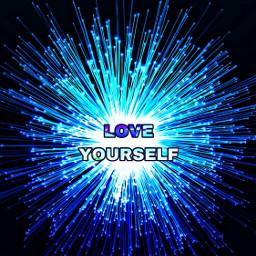 loveyourself freetoedit blue
