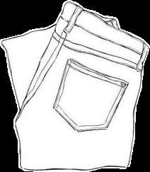 pants drawing blackandwhite freetoedit